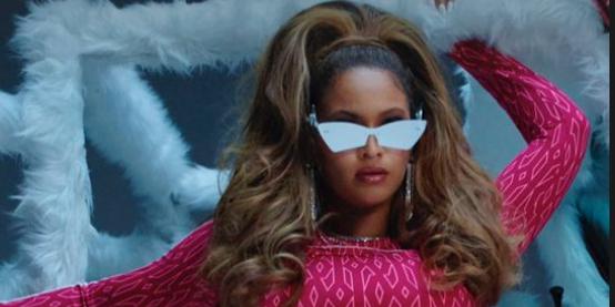 Beyoncé Looks Incredible in New 'Icy Park' Pink Crop Top and Leggings