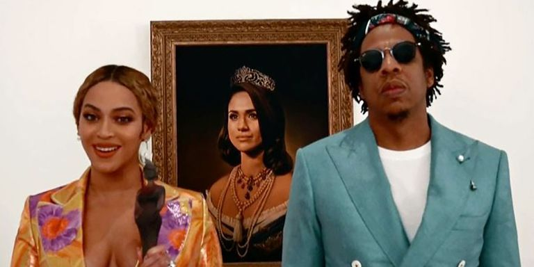Beyoncé en Jay-Z voor portret Meghan Markle