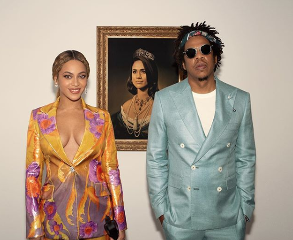 Meghan Markle Basically Lost All Chill When She Saw Beyoncé and Jay-Z's Portrait Tribute to Her