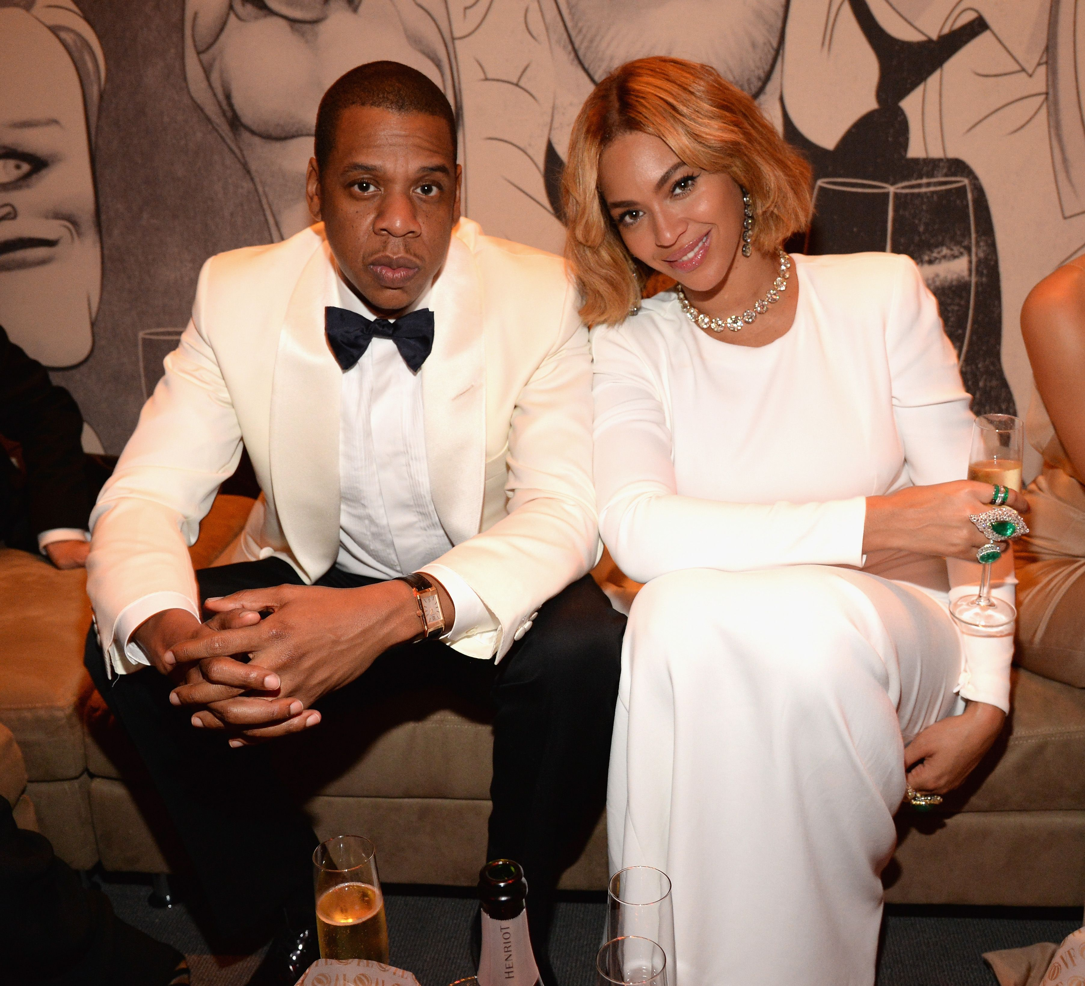 Beyonc and Jay-Z Unveil New Photos of Twins Sir