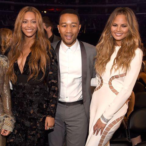 Beyoncé, John Legend, and Chrissy Teigen