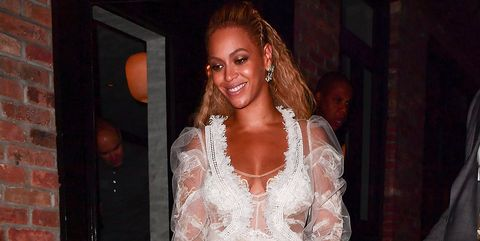 1ed7b2e5dcfd See Beyoncé s Stunning Wedding Gown for Her Vow Renewal with Jay-Z