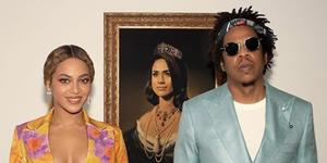 Beyoncé, Jay-Z en Meghan Markle