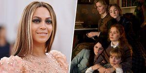 """Beyoncé y el reparto de """"Mujercitas"""""""