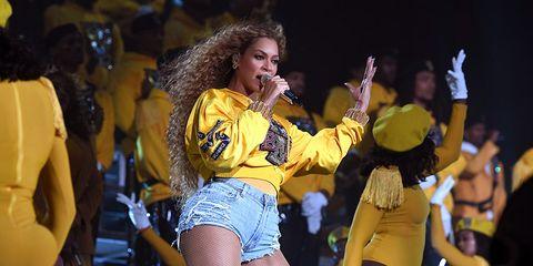 Beyonce nail polish change Coachella 2018