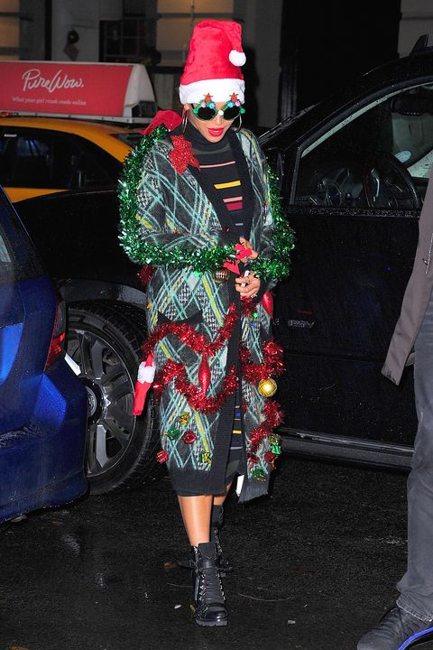 Celebrity Sightings In New York City - December 14, 2015