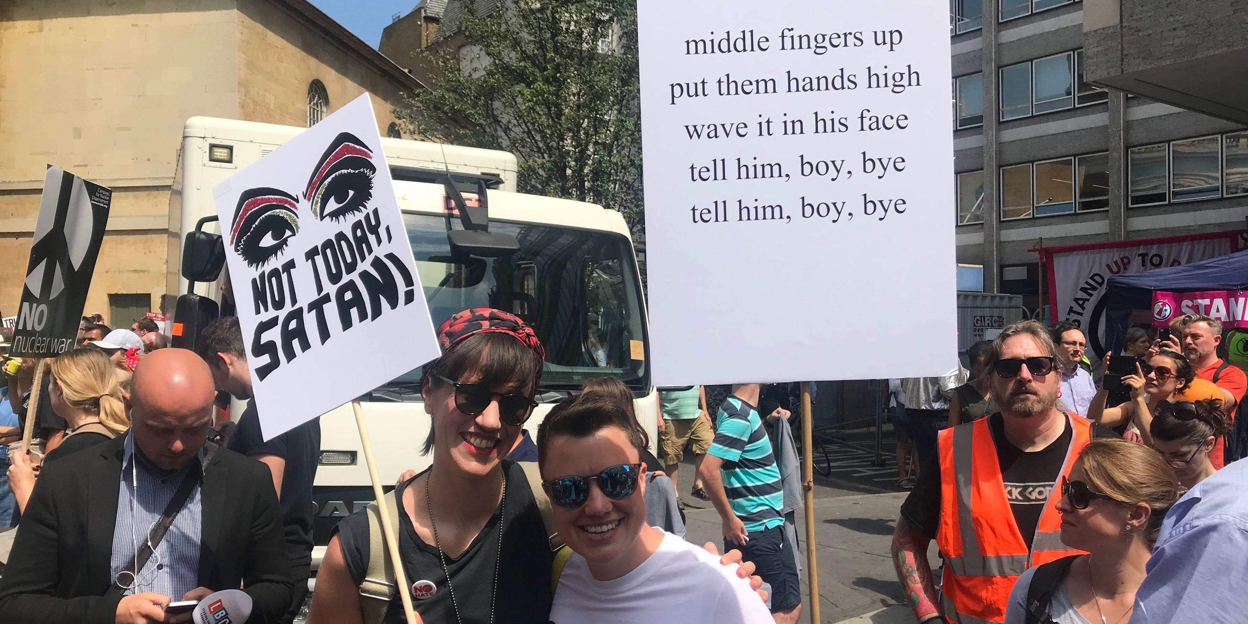Trump Protest London