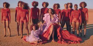 Beyonce Blue Ivy Spirit video