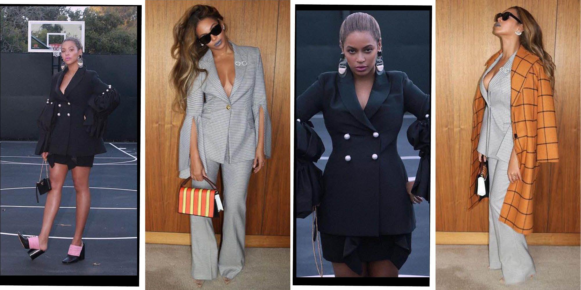 Beyoncé Suit Instagram