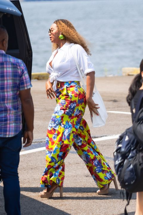 beyoncé in nyc for her lunch date
