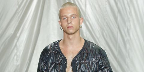 Clothing, Sleeve, Trousers, Jacket, Textile, Outerwear, Style, Street fashion, Denim, Leather jacket,