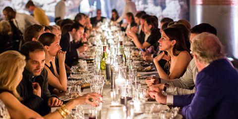 Meal, Event, Fun, Human, Restaurant, Dinner, Rehearsal dinner, Supper, Crowd, Drink,