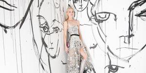 Sasha-Pivovarova-artist-dior-model