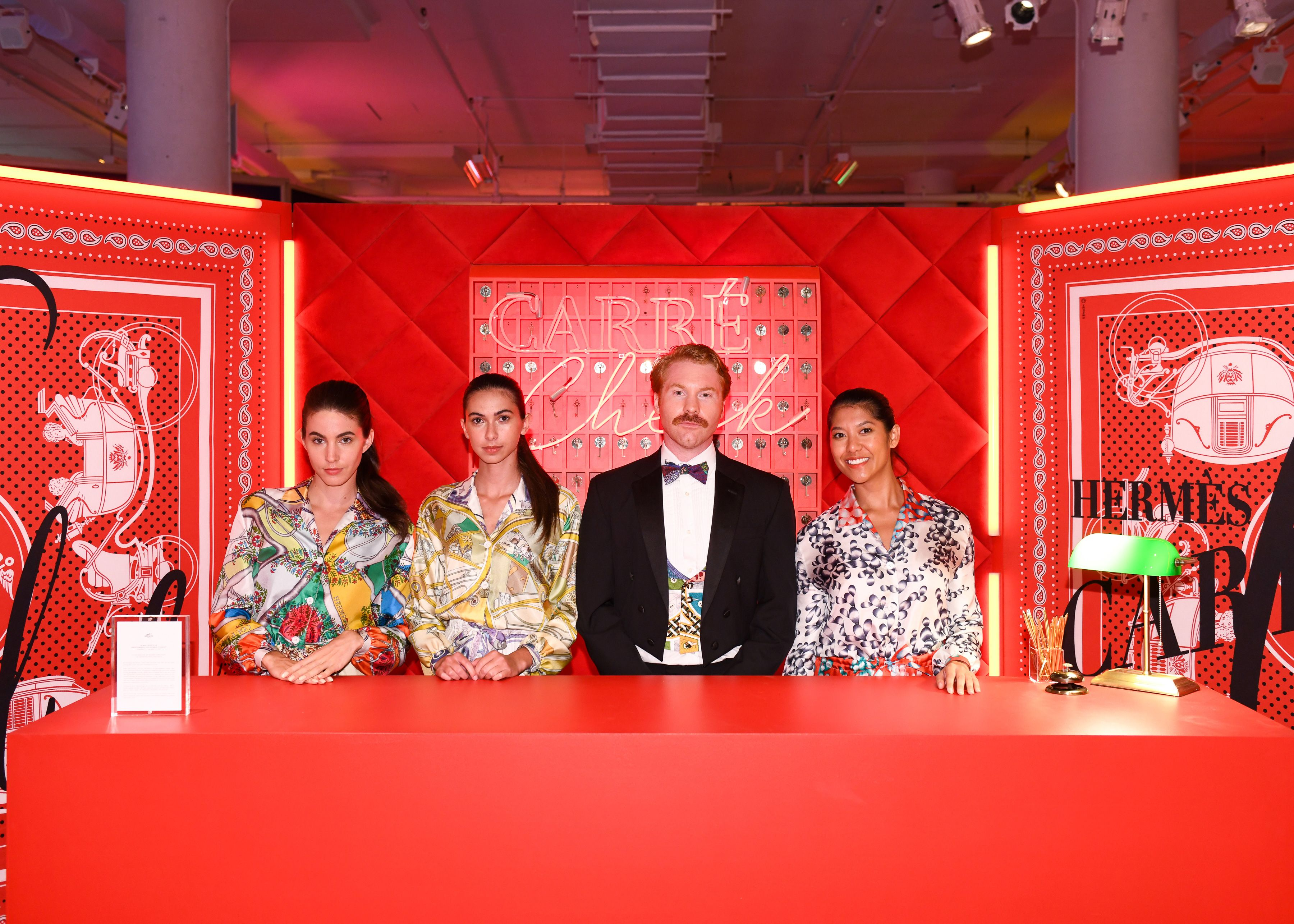 Image result for hermes carre club pop up nyc