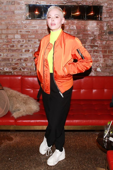 Orange, Clothing, Red, Fashion, Outerwear, Street fashion, Jacket, Costume, Trousers, Suit,