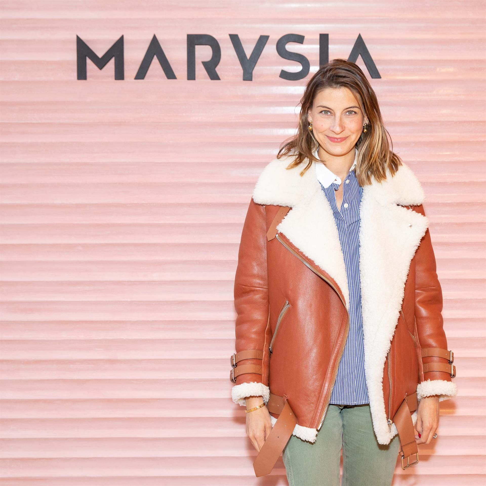 Sylvana Ward Durrett Sylvana Ward Durrett celebrates the opening of the Marysia Soho boutique on April 4 in New York City.