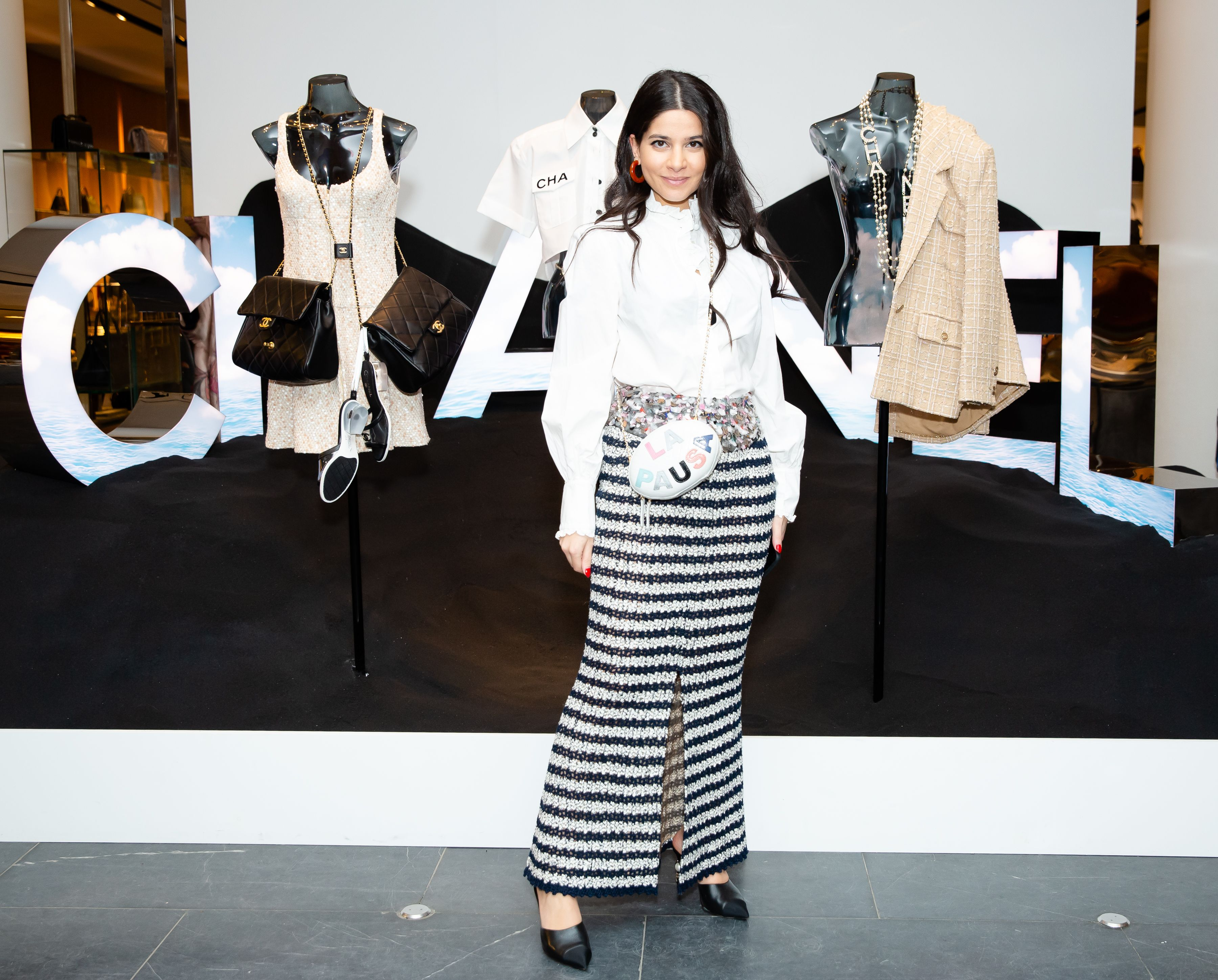 Lainy Hedaya Lainy Hedaya attends the cocktail and dinner party to celebrate the opening of Chanel's new boutique at Barneys New York on April 3.