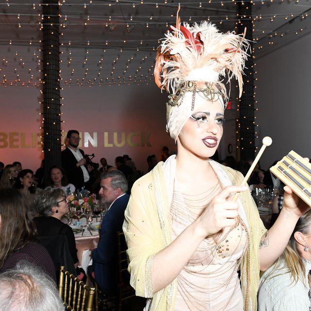 Fashion, Event, Beauty, Yellow, Ceremony, Fun, Party, Headpiece, Fashion design, Dress,