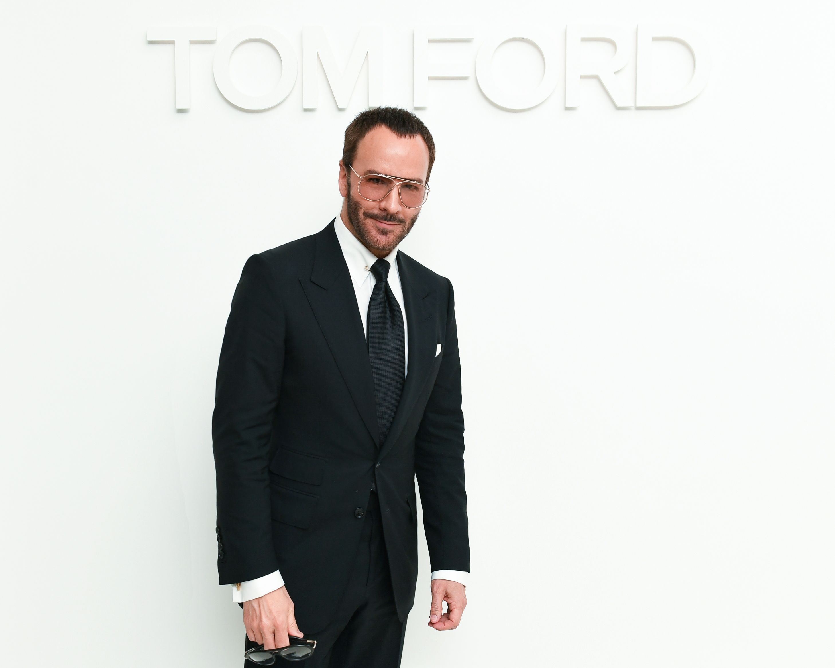 Tom Ford Tom Ford hosted a party  to celebrate the launch of his new Soleil Summer 2019 beauty collection on April 10 in Beverly Hills.