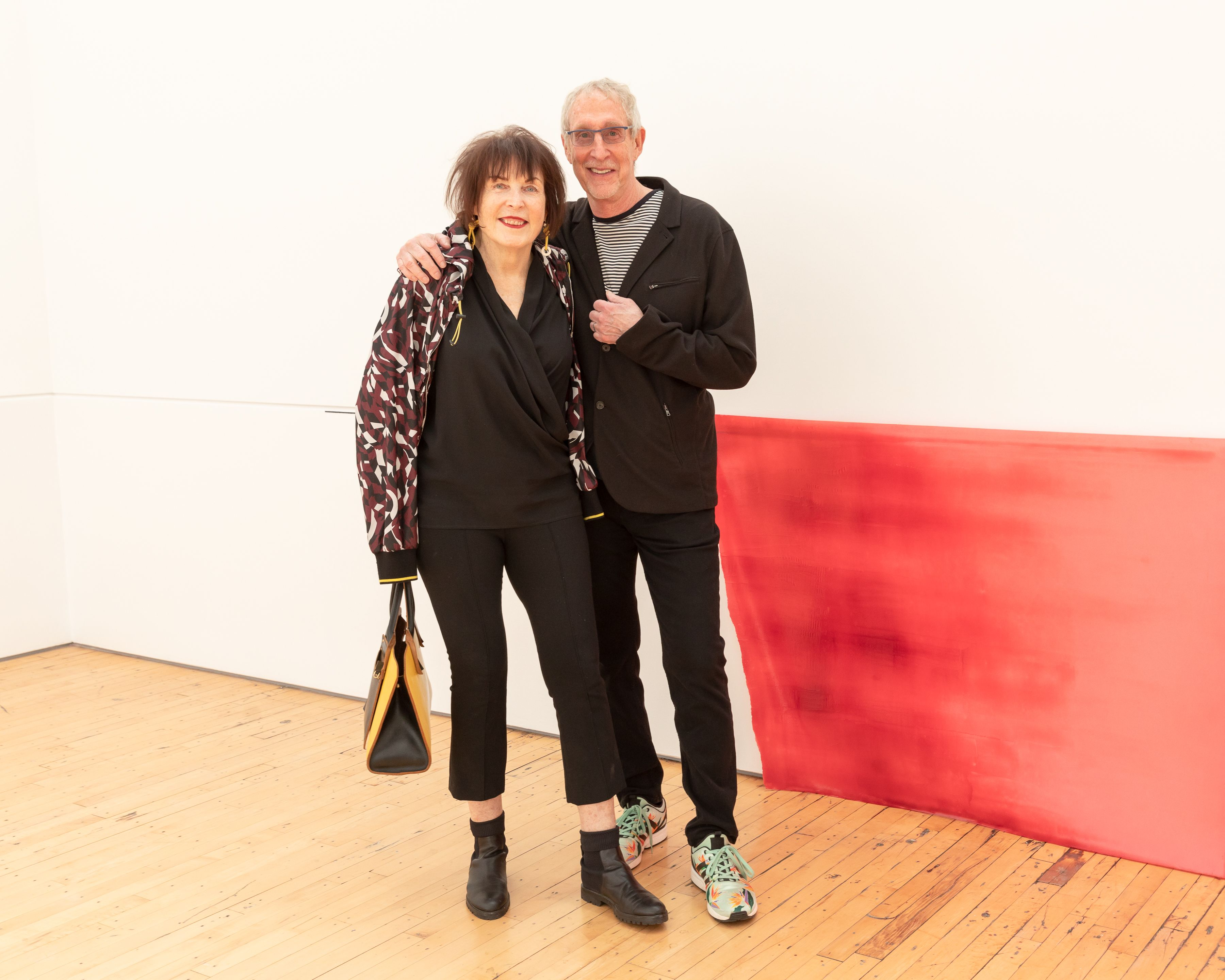 Artist Marilyn Minter and Bill Miller at the 2019 Dia:Beacon Spring Benefit.