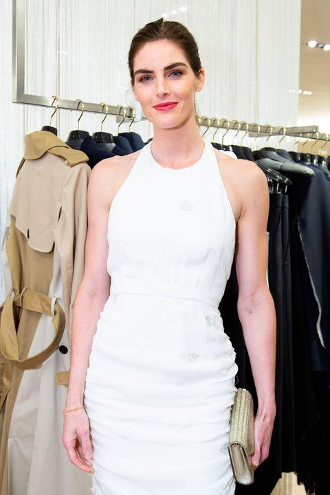 White, Clothing, Fashion model, Shoulder, Fashion, Dress, Haute couture, Beauty, Fashion design, Fashion show,