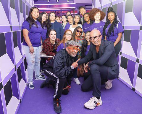 Purple, Social group, Event, Team, Fun, Leisure,