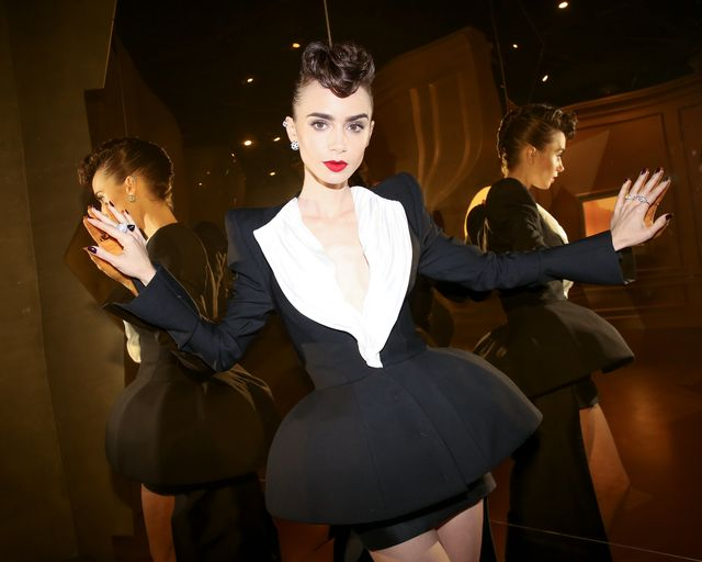 cartier lily collins