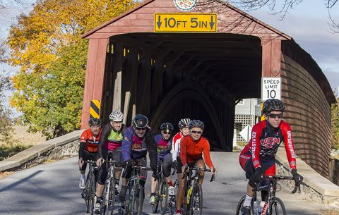 Join Bicycling's Staff on a Tour Through Eastern Pennsylvania, October 2