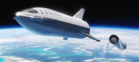 spacex bfr artist rendering