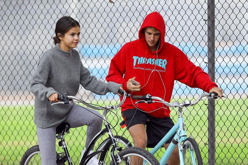 Justin Bieber Selena Gomez Bikes