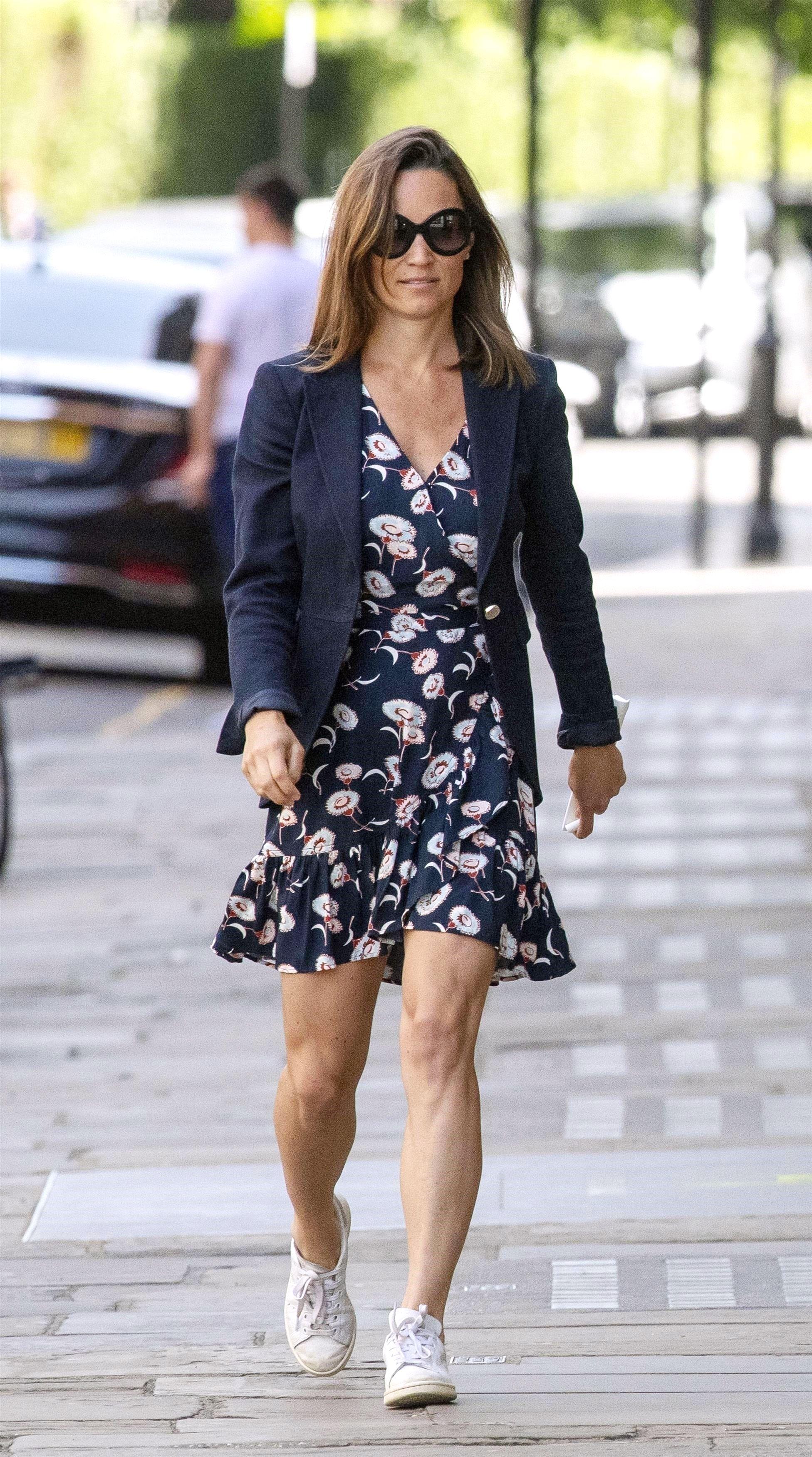 Pippa Middleton Made a 49 J.Crew Dress Look Like a Million Bucks