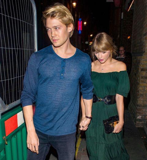cf800198569a Taylor Swift and Joe Alwyn Hold Hands on Fancy Date in London ...