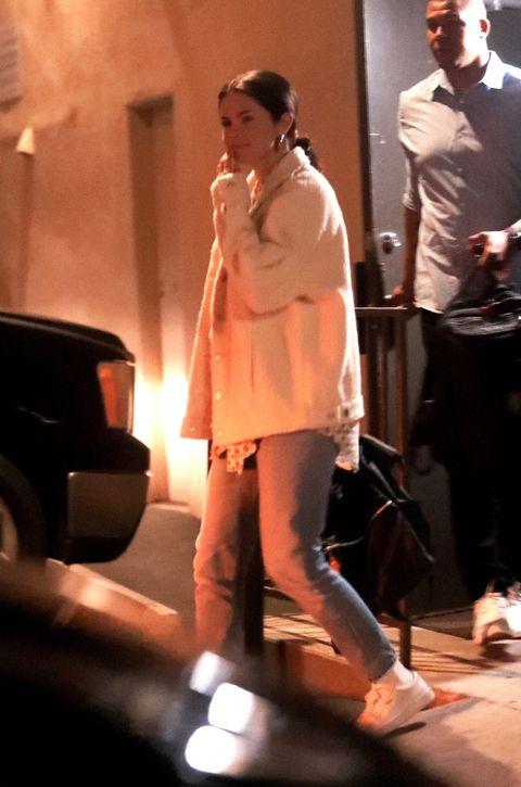 Selena Gomez at a recording studio in L.A.