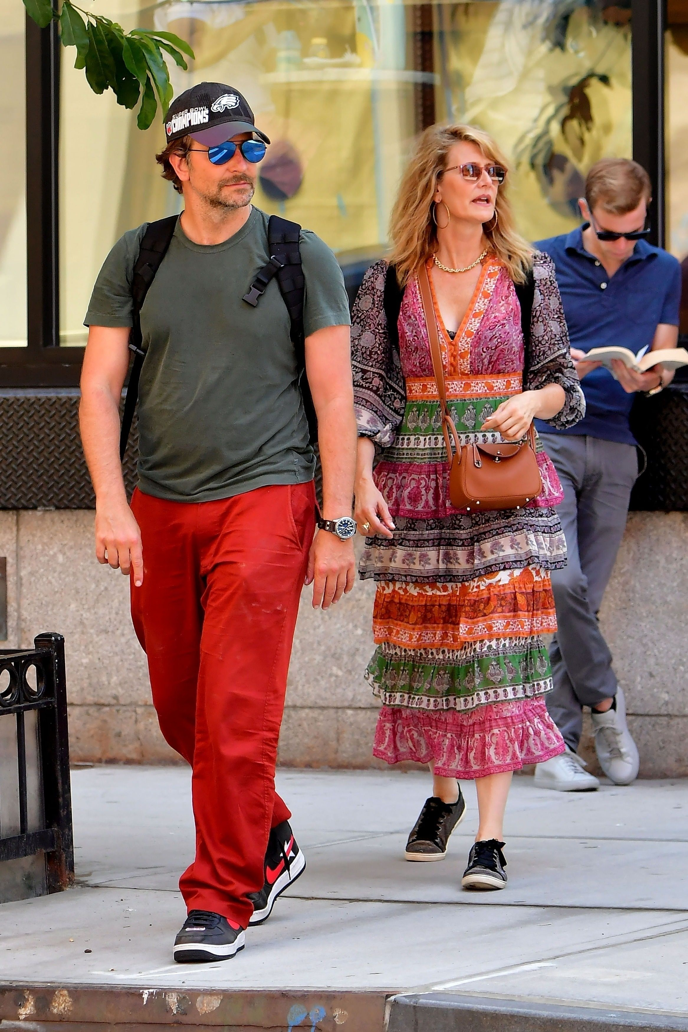 Bradley Cooper and Laura Dern Had a Weekend Hangout in New York City