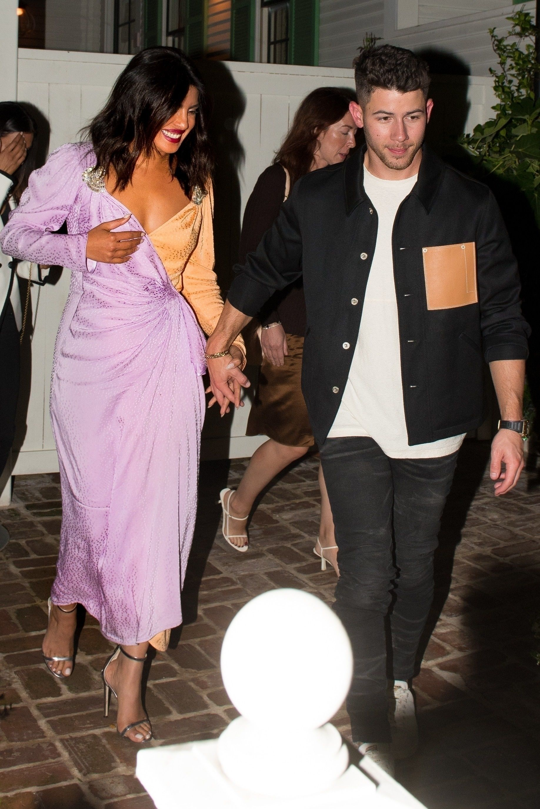 Priyanka Chopra and Nick Jonas' Date Outfits Matched in the Cheekiest Way
