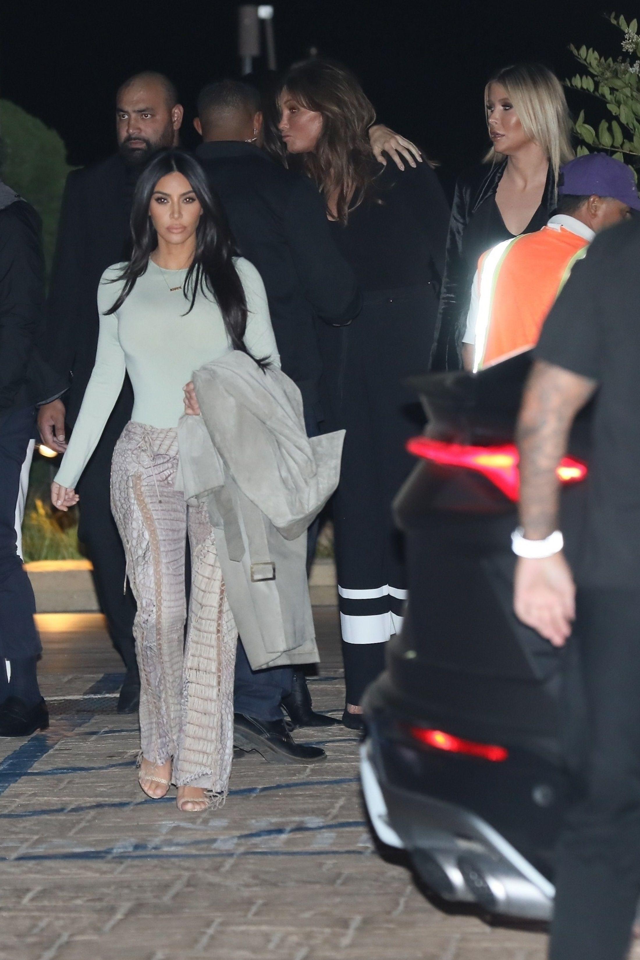 Kim Kardashian's Unedited Instagram Pics Compared to IRL Pap Shots