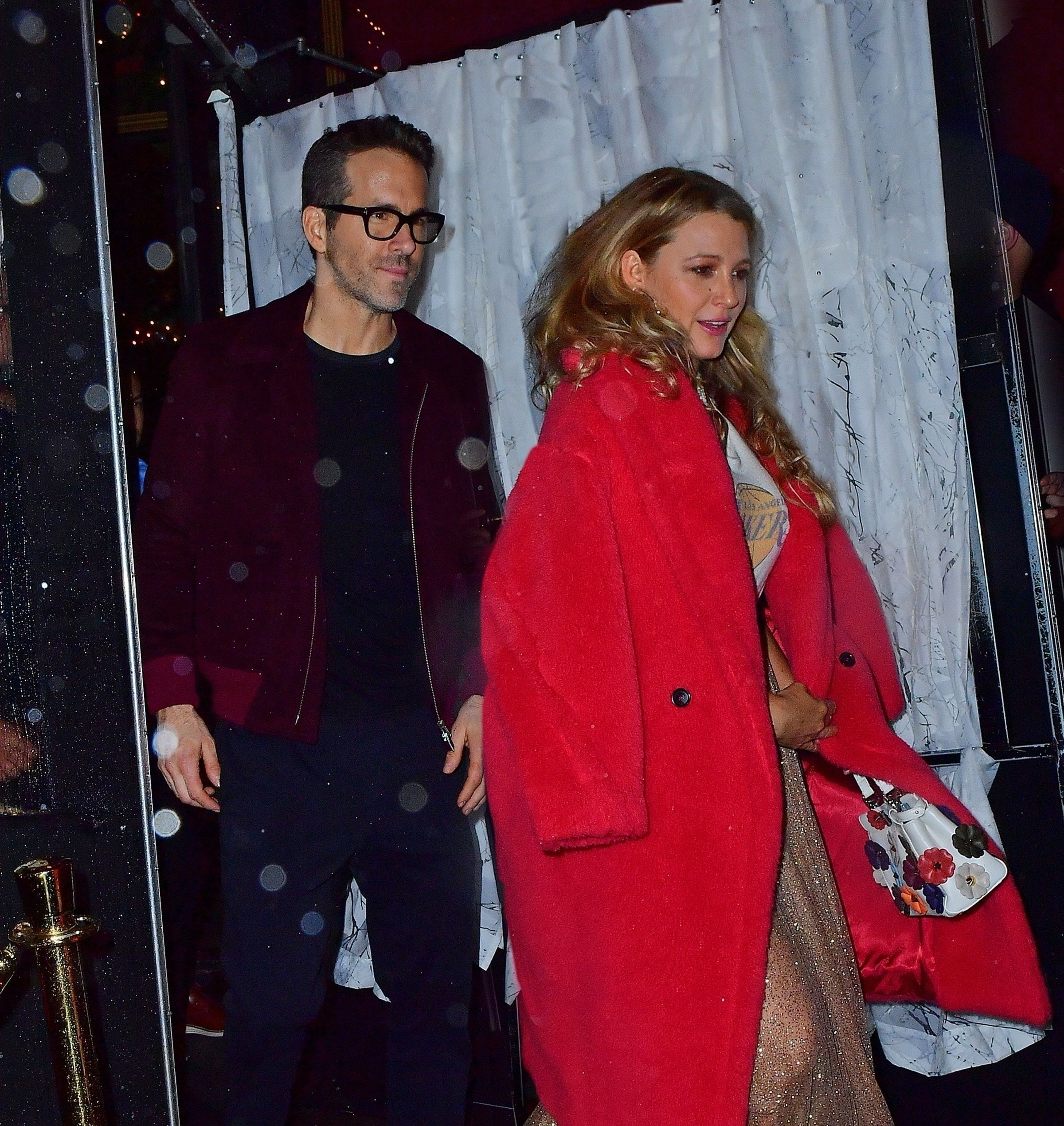 Blake Lively And Ryan Reynolds Attend Taylor Swift S 30th Birthday Party