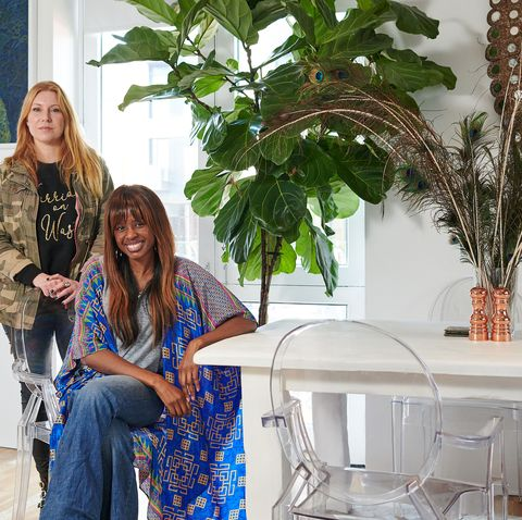 June Sarpong's stylish charity shop home makeover
