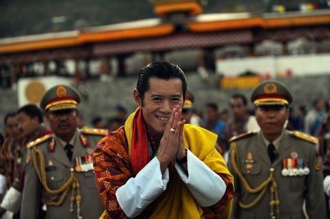 bhutan's new king, jigme khesar namgyel
