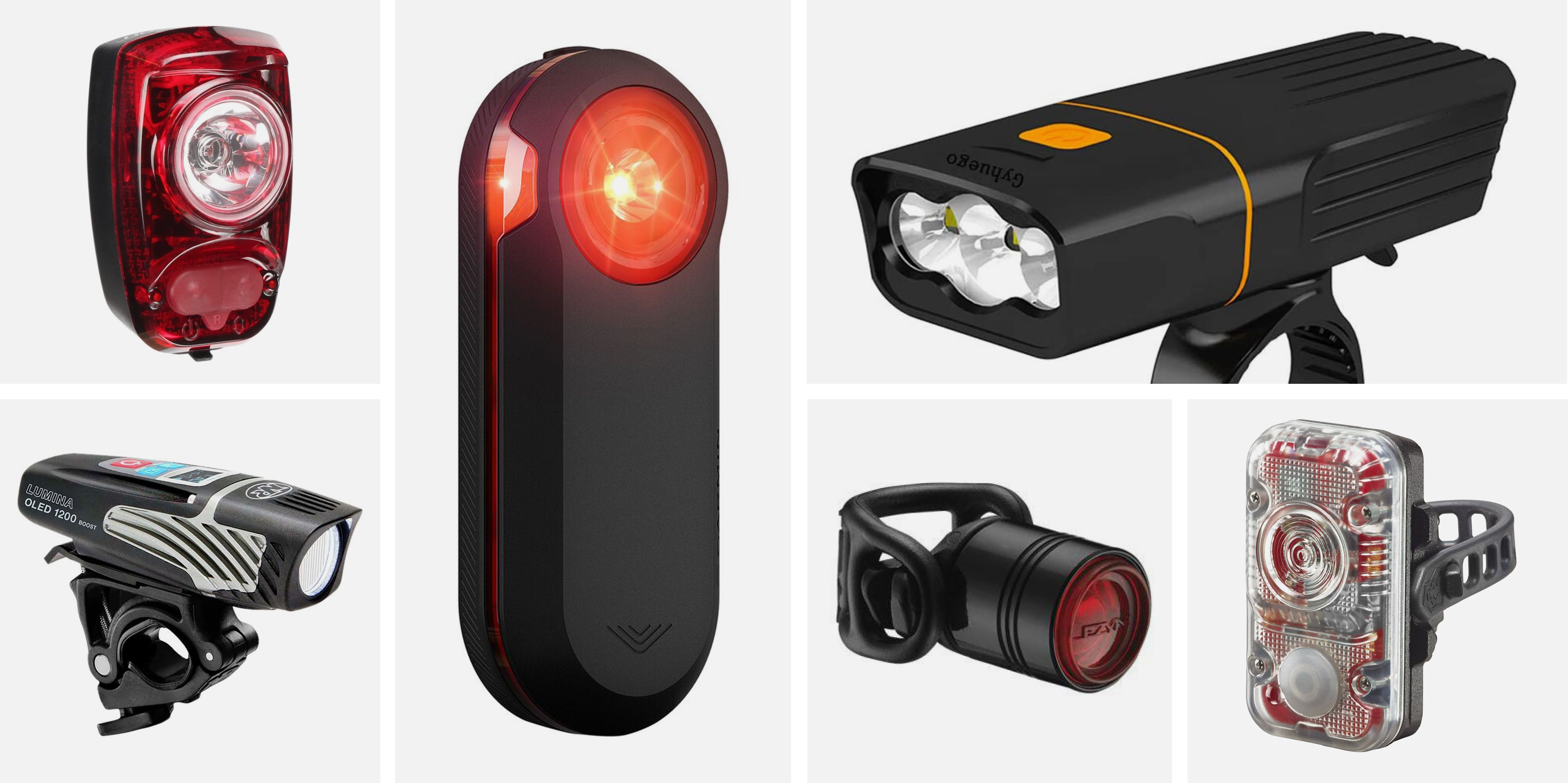 USB Rechargeable LED Bicycle Bike Front Head Light Rear Taillight Lamp Cycling
