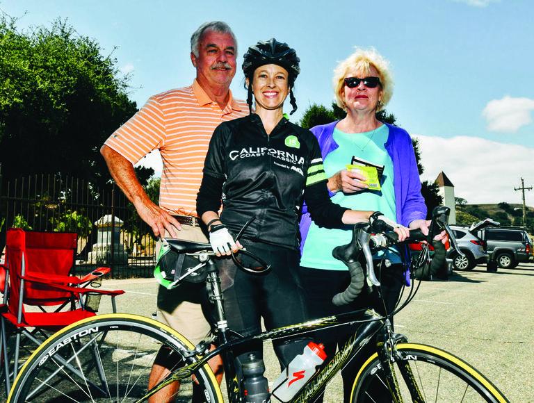 Jenn Ramsey charity ride