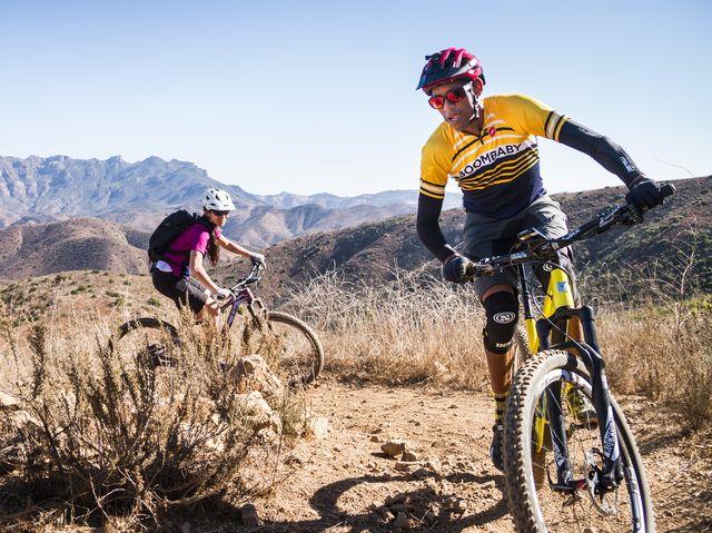 nba star reggie miller is all in on mountain biking