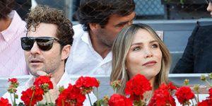 David Bisbal y Rosanna Zanetti han dejado al pequeño Matteo en casa y han disfrutado de unas horas solo para ellos dos en el Mutua Madrid Open.