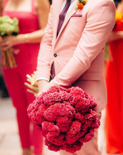 Bouquet, Flower, Red, Pink, Flower Arranging, Floral design, Floristry, Plant, Cut flowers, Yellow,