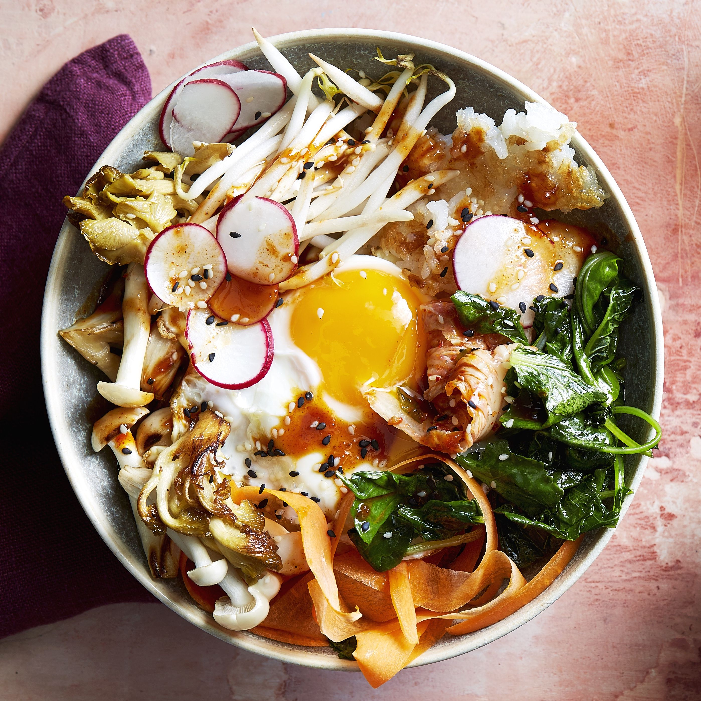 Korean Bibimbap Bowls Recipe How To Make Bibimbap At Home