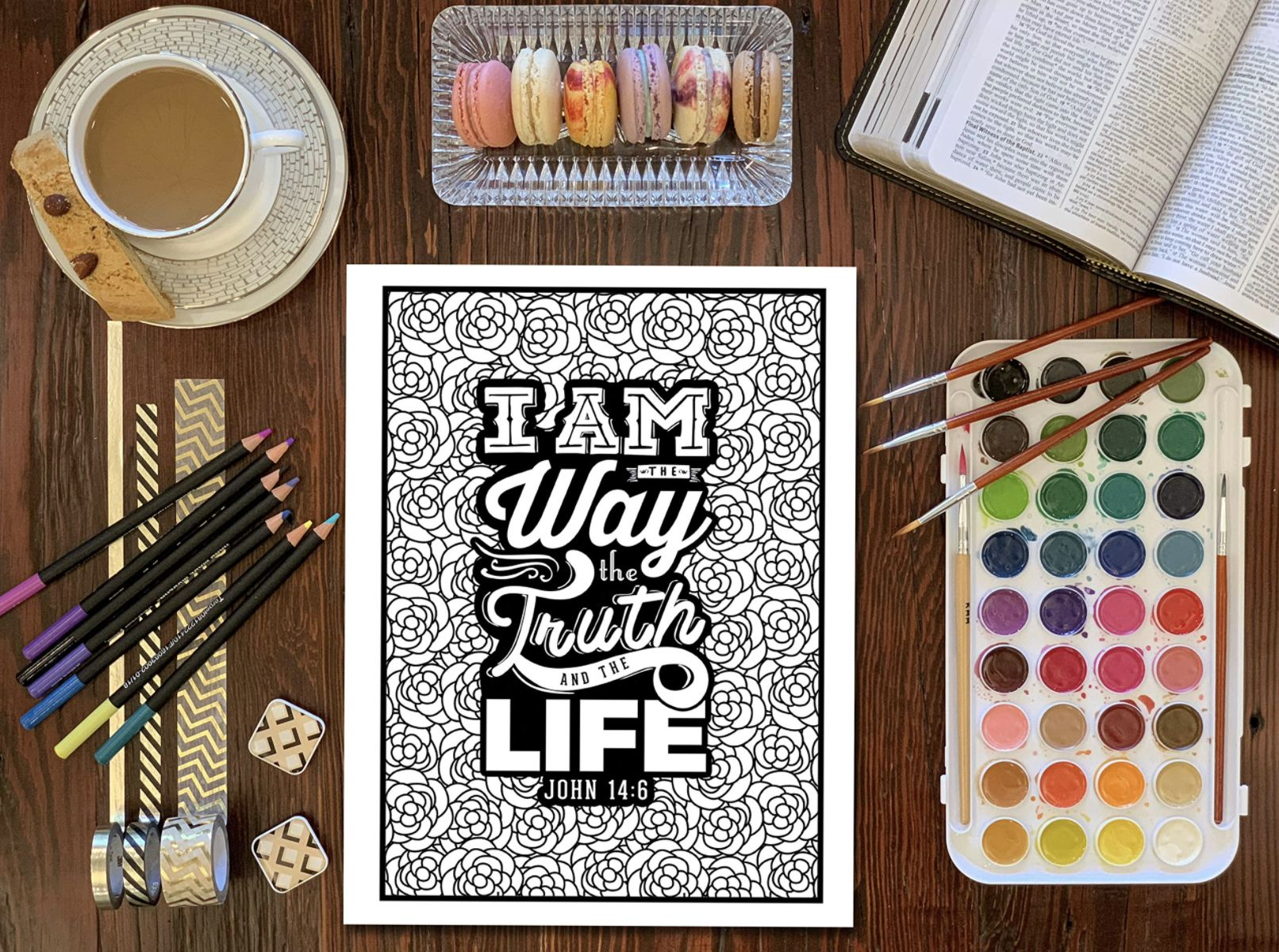 - Bible Verse Coloring Pages - Christian Coloring Books For Adults
