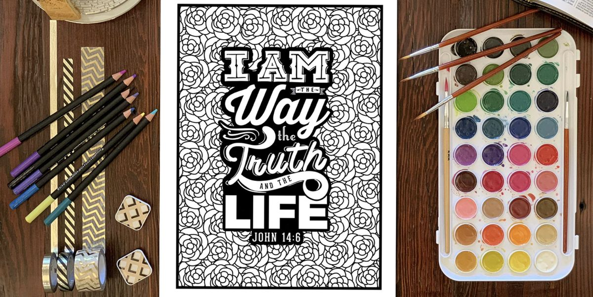Bible Verse Coloring Pages Christian Coloring Books For Adults