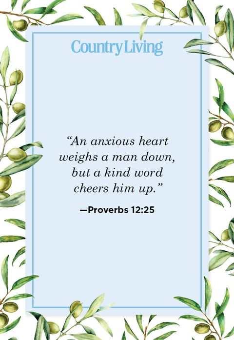 Quote from Proverbs 12:25