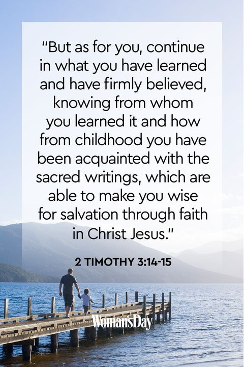 Bible Verses About Children  2 Timothy 3:14-15