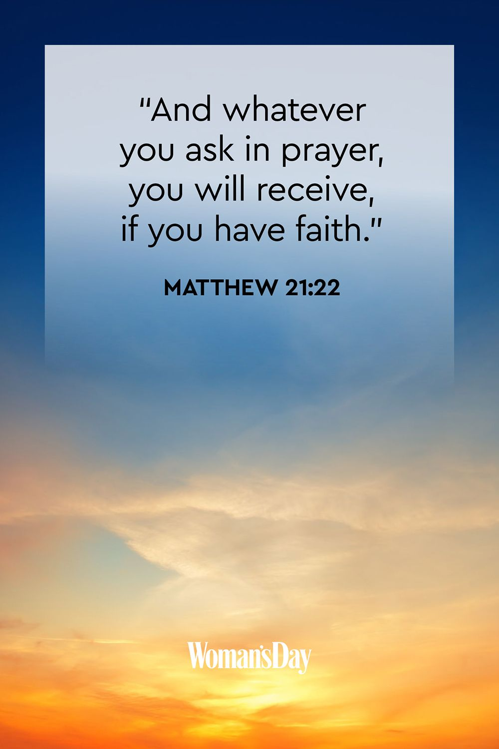 graphic about I Said a Prayer for You Today Printable named 15 Bible Verses Regarding Religion Religion-Stuffed Bible Verses